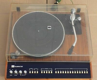 Vintage ADC Accutrac 4000 Turntable Lma-1 Cartridge Record Player