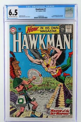 Hawkman #1 - CGC 6.5 FN+ DC 1964 - 1st App of Hawkman in his own title!!!