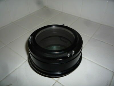 Sears 90mm F15 Airspaced Refractor Telescope Lens in cell.  A rare find