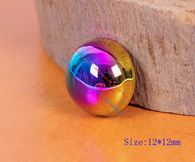 20PC Colorful Mushroom Dome Shaped Studs Rivets for Leathercraft Bag Shoes 12mm