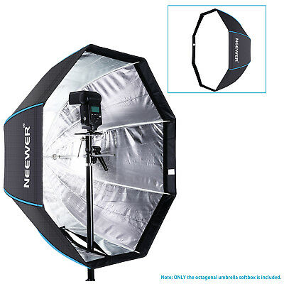 "Neewer 29.5""/75cm Portable Octagonal Umbrella Softbox for Studio Flash Speedlite"