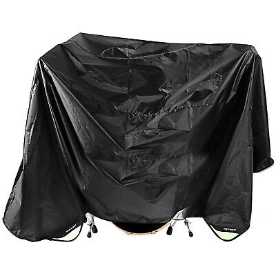 """Neewer Black 80x108"""" Drum Set Water-Resistant Dust Cover With Weighted Corners"""