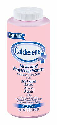 Caldesene Medicated Protecting Powder with Zinc Oxide & Cornstarch, 5 Ounce
