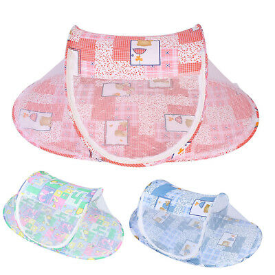 Baby Infant Portable Foldable Travel Bed Crib Canopy Mosquito Net Tent 3Colors