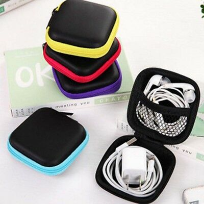 5 Colors Portable Storage Package Bag Case Digital USB Cable Earphone Travel