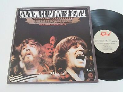 CREEDENCE CLEARWATER REVIVAL/CHRONICLE-20 GREATEST HITS 2xLP FANTASY ALBUM235FOC