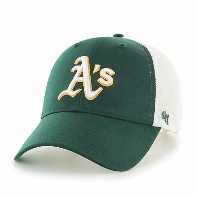 MLB Oakland Athletics A's Cap Basecap adjustable Baseballcap MVP Branson Trucker