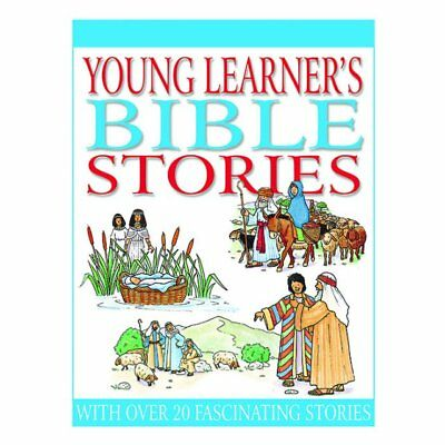 Childrens Kids Young Learner's Colourful Hardback Bible Stories Gift Present