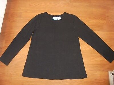 Announcements Maternity black long sleeve t-shirt size M 8/10