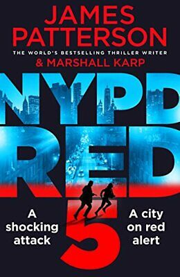 NYPD Red 5 by Patterson, James Book The Fast Free Shipping