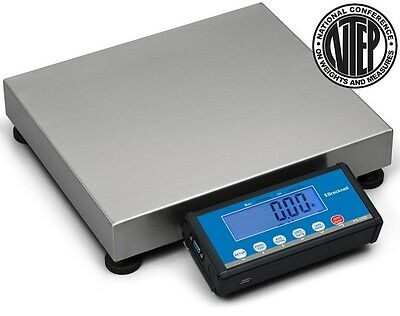 """Brecknell  LPS-150 Portable Digital Shipping Scale,150 lb x 0.05 lb,Plate 15x12/"""""""