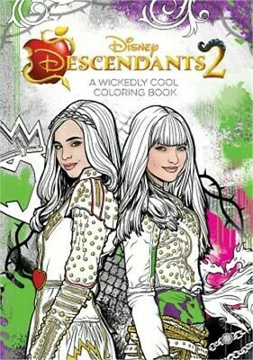 Descendants 2 a Wickedly Cool Coloring Book (Paperback or Softback)