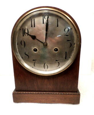 Junghans 8 Day Striking Mantle Clock Circa 1915