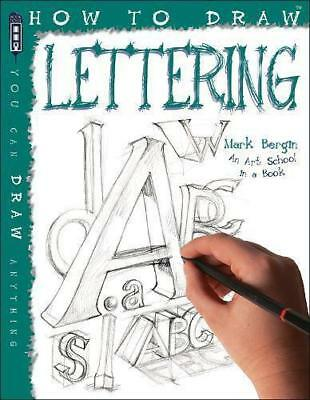 How To Draw Creative Hand Lettering by Mark Bergin | Paperback Book | 9781912006