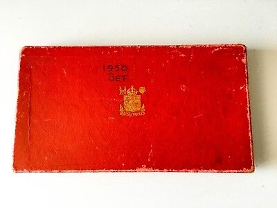 Gb 1950 Proof Set Box ++ Box Only, No Coins Incl. - Free S&h Usa ++ [798-01]