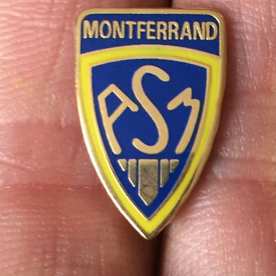 Montferrand French Rugby Union Crest Enamel Pin Badge