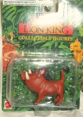 New Disney THE LION KING COLLECTIBLE FIGURES PUMBAA