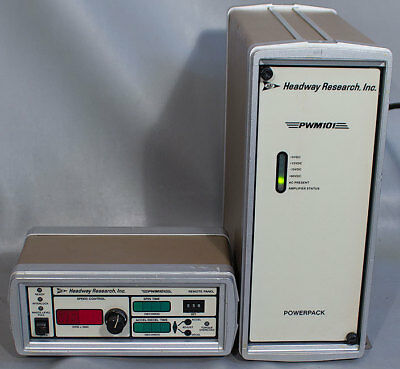 Headway Research 1-PWM101-ECR485 Pulse Width Remote Control Panel & Power Pack