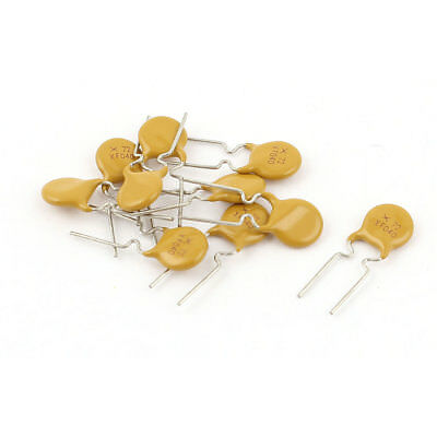 10 Pcs 72V 400mA Radial Lead Type PPTC Resettable Fuse PolySwitch