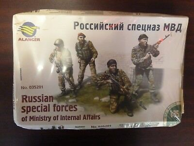 Alanger 035201 Russian Special Forces of MIA 1.35 NEU / OVP
