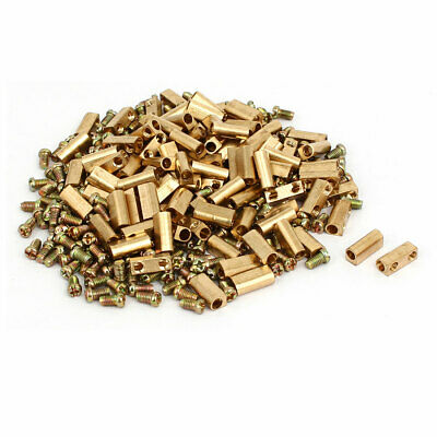 3mm Dia Brass Terminal Blocks Neutral Links Electrical Wire Connectors 100pcs
