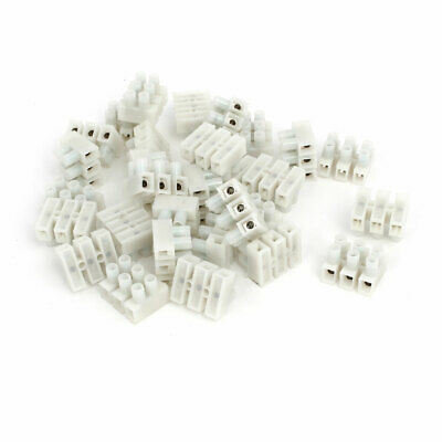 PA8-3P 450V H Type Screw Terminal Blocks Strips Wire Cable Connectors 30pcs