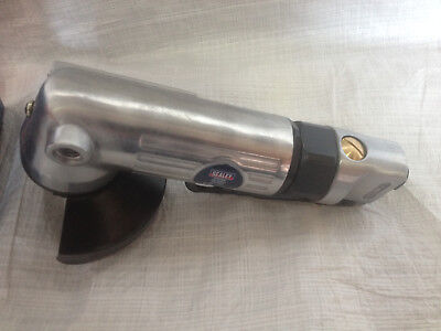 "Sealey Air Angle Grinder 100mm Heavy Duty Aluminium Body 4"" SA44 (B)"