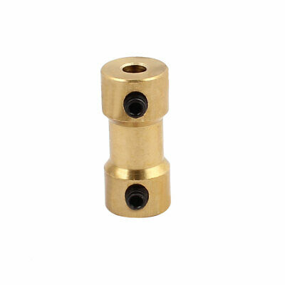 3.17mm to 3.0mm Copper DIY Motor Shaft Coupling Joint Connector for Toy Car