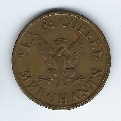 GREAT BRITAIN Lancashire Unofficial Farthing Robert Entwisle Tea Coffee Inv 2958