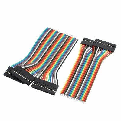 5Pcs 12P Jumper Wire Single Female Head Ribbon Cable Pi Pic Breadboard 10cm Long