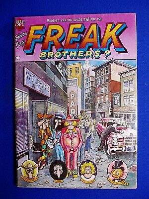Freak Brothers 4: Gilbert Shelton, Dave Sheridan. 2nd (no cover price).