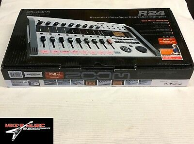 Zoom R24 Multi-track recorder, Interface,Controller, Sampler