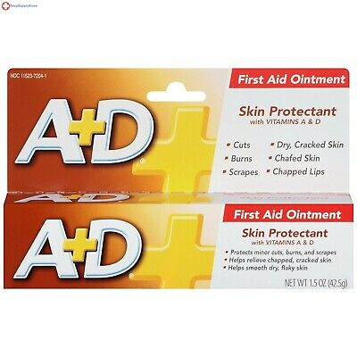 A+D First Aid Ointment, 1.5 Ounce Protects from minor cuts, scrapes and burns