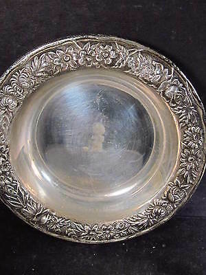 Sterling S. Kirk & Son REPOUSSE MEDIUM BERRY BOWL #407a  NM