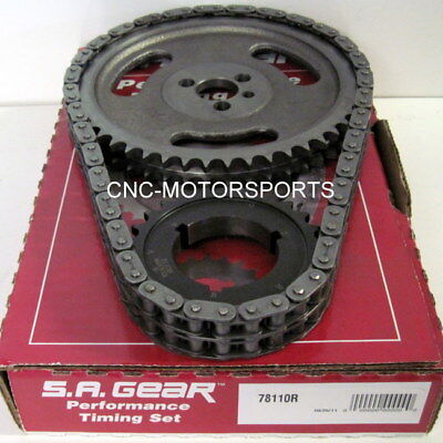 SA GEAR 78540R Billet Timing Chain Set Buick 400 430 455 .250 Double Roller 3Key