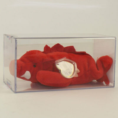 029b410a9aa5a4 Authenticated TY Beanie Baby - GRUNT the Razorback (3rd Gen Hang Tag -  MWMT's)