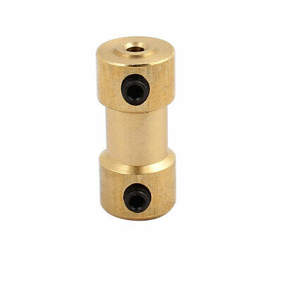 2.0mm to 2.0mm Copper DIY Motor Shaft Coupling Joint Connector for Toy Car
