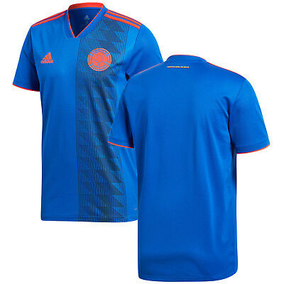 c24ea5642 adidas Colombia FIFA WC World Cup 2018 Away Soccer Jersey Blue Kids Youth