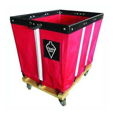 Basket Truck,20 Bu. Cap.,Red,48 In. L TOUGH GUY 33W319