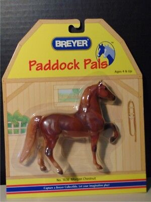 Breyer Paddock Pal Chestnut Morgan Horse 2003  #1636 NIP Retired