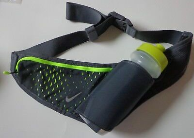 Nike Hydration Waist Pack Big Mouth Bottle 22 oz. Atomic Green/Grey Adult OSFM