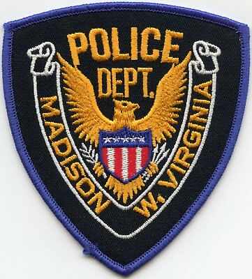Madison West Virginia Wv Police Patch