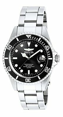 Invicta Mens Pro Diver Analog Quartz Silver Stainless Steel Watch