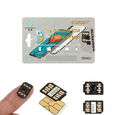 Universal Unlock Turbo Sim Card For iPhone X 8 7 6S 6 Plus 5S SE 5 iOS 11.2.6