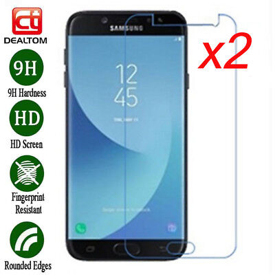 1/2x Tempered Glass Film Screen Protector Cover For Samsung Galaxy J2 Pro (2018)