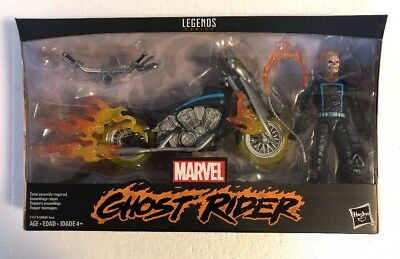 """Marvel Legends 6"""" ULTIMATE GHOST RIDER & DELUXE MOTORCYCLE WAVE 1 NEW I"""