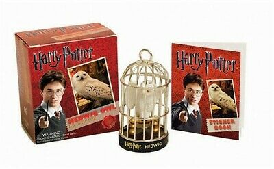 Harry Potter Hedwig Owl and Sticker Kit [With Sticker(s)] (Mixed Media Product)