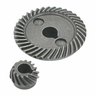 Power Tool Spare Part Helical Teeth Bevel Gear Set for 155 Angle Grinder