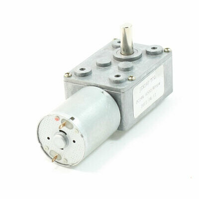 DC 24V 8300/48RPM Output Speed Terminals 6mm Shaft Electric Geared Motor
