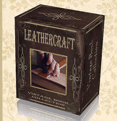 190 Rare Craft Leather Work Books on DVD Learn Tanning Hide Shoe Making Bags 35